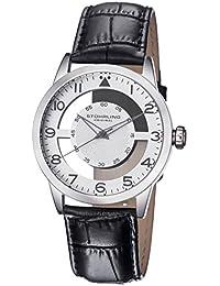 Stührling Original 650.01 - Reloj analógico para hombre, correa de cuero