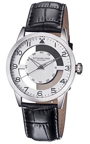 41aPrfcCg8L - Stuhrling Original Silver Mens 650.01 watch