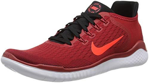 NIKE Herren Laufschuh Free Run 2018 Sneakers, Mehrfarbig (Gym Bright Crimson/Black/Team Red 001), 44.5 EU