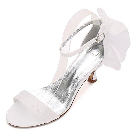 Dhonneur 17061 À Mariage Chaussures Dété Demoiselle 8 Talon L Femmes wgT4C4