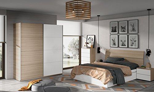 Miroytengo Lote mobiliario Completo Dormitorio Matrimonio