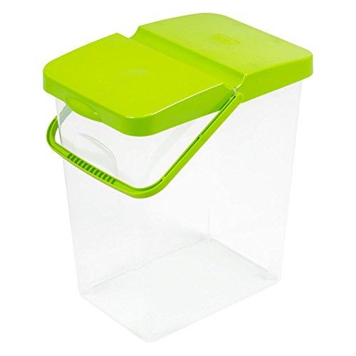 Branq Futterbehalter, Plastik, grün, 41.5 x 36 x 24.5 cm
