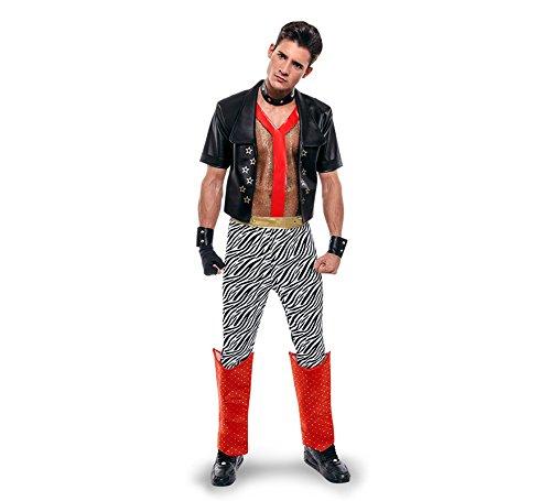 Imagen de disfraz de punky de los años 80 para hombre