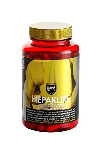 Hepakure 120 Caps - Extrakte aus Pflanzen und lipotropen Aminosäuren zur Förderung der Entgiftung und Entschlackung des Körpers.