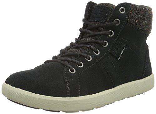 Helly Hansen W Madieke, Sneaker a Collo Alto Donna Nero (Jet Black/Natura/Espr)