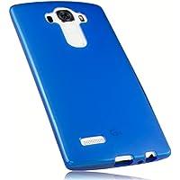 mumbi Schutzhülle LG G4 Hülle transparent blau