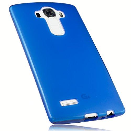 mumbi Hülle kompatibel mit LG G4 Handy Case Handyhülle, transparent blau