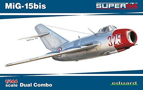 Unbekannt Eduard Plastic Kits 4442 - Modellbausatz MiG-15bis Dual Combo