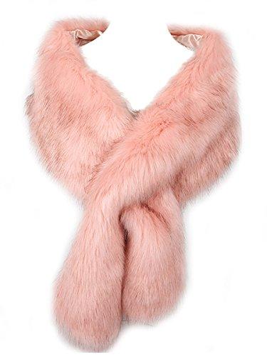 Hot Style Zone - Estola - mujer rosa Rosa