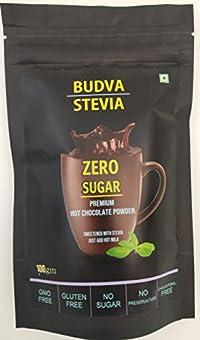 Budva Stevia Hot Chocolate Drink Powder 500g