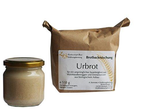 Leidenschaft-Brot - Brotbackmischung Urbrot ca. 510 g (+ 200g Sauerteig)