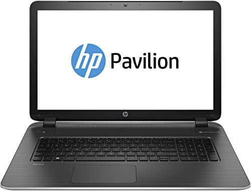 8EA#ABD Pavilion 17-f100ng 43,9 cm (17,3 Zoll) Notebook-PC (Intel Pentium N3540, 2,1GHz, 4GB RAM, 750GB HDD, Intel HD, kein Betriebssystem) silber (Beats Audio Hp-laptop)
