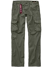 Alpha Industries Hose Jet Pant, Farbe:olive, Größe:36