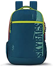 Skybags Komet 02 28 Ltrs Turquoise Laptop Backpack (Komet 02)(32cms x 17cms x 47cms)