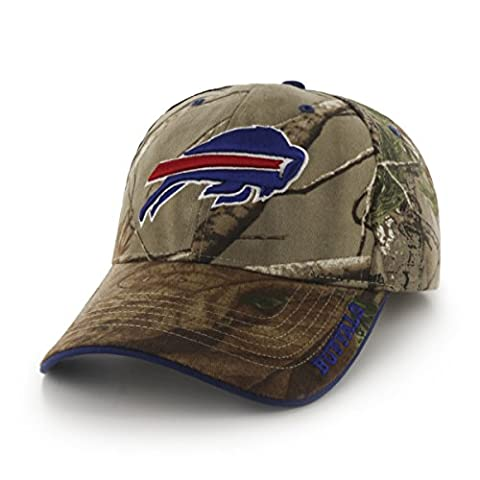 NFL Buffalo Bills '47 Frost MVP Camo Adjustable Hat, One Size Fits Most, Realtree Camouflage