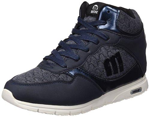 MTNG Attitude 69885 - Zapatillas altas para mujer, color Azul (Pedri Navy), talla 39 EU