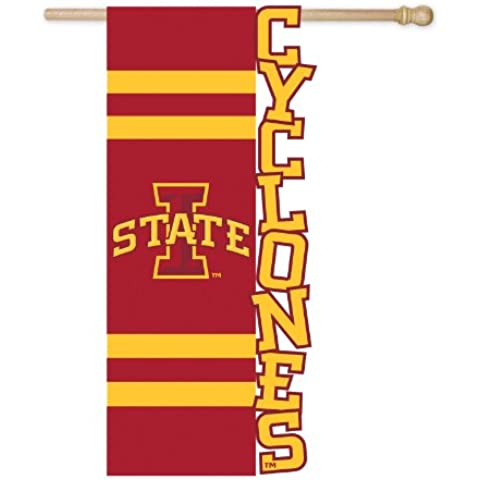 Iowa State University ciclogenesi applique House Flag