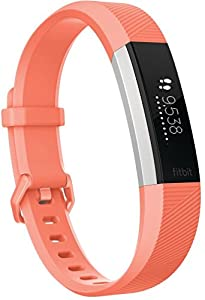 Fitbit Alta Hr Armband Zur Herzfrequenz-und Fitnessaufzeichnung, Coral, L