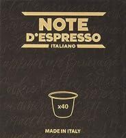 Note D'Espresso Capsule esclusivamente Compatibili con Sistema Nespre
