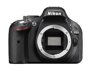 Nikon D5200 Appareil photo numérique Reflex 24,71 Mpix Boîtier Nu Noir