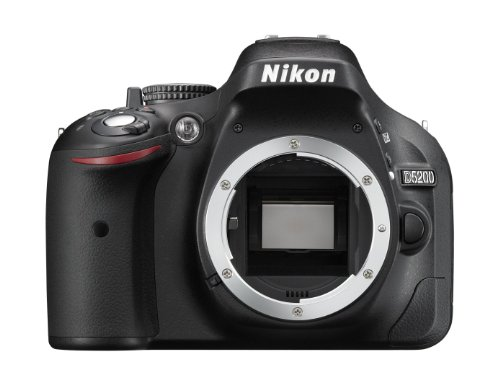 Nikon D5200 - Cámara digital (24.1 MP, SLR Body, CMOS, Nikon F, TTL, Autoenfoque continuo, Selective Auto Focus, Servo Auto Focus, Autoenfoque único) Negro
