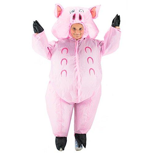 Kostüm für Kinder Tiere Zoo Safari (Kind-schwein Kostüm Halloween)