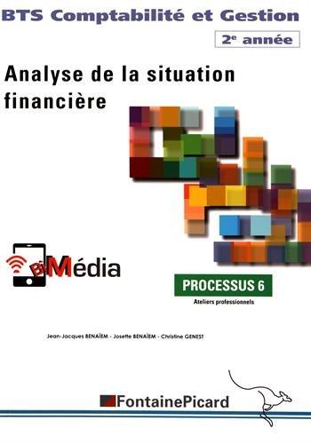 Analyse de la situation financière BTS Comptabilité et Gestion 2e année : Processus 6