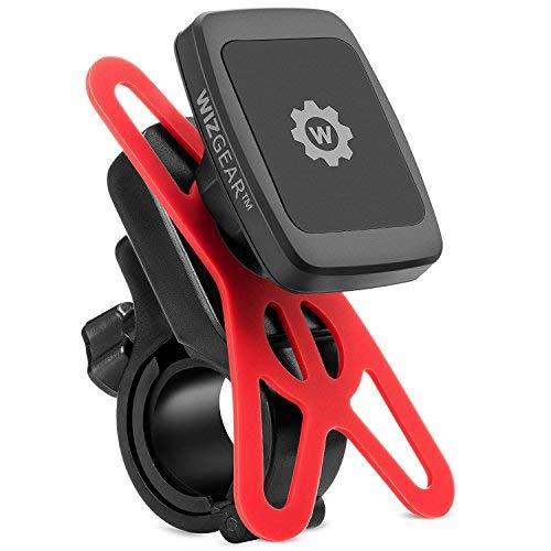 magnetisch Bike Mount, wizgear Universal Fahrrad & Motorrad Magnet Lenker Halterung für Handys und GPS mit Fast Swift-Snap Technologie, magnetischer Bike Phone Halter Gps Magnet Mount Gps