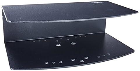Ergotron 200 Series Combo Arm Kit de montage ( bras articul é, plateau de support ) pour écran plat / clavier / souris noir Interface de montage : 100 x 100 mm, 75 x 75 mm mural