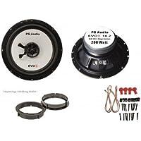 Lancia Y, Fiat Idea, Fiat Croma, altoparlanti anteriori, PG Audio