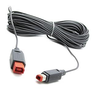 Link-e ® : Kabel verlängerung 4,5m für Sensorleiste and der Nintendo Wii, Wii-u Konsole (sensor bar extension cable)