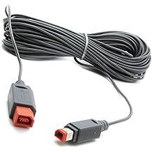 Link-e ®: cable de 4,5 m de extensión de la barra de sensores (barra de sensores con cable) en la Nintendo Wii