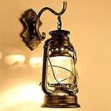 E27/E26 Vintage Applique da Parete Interno Wall light lampada da parete LED Applique a LED a Luce Industriale in Vetro Antico stile per Casa Bar Ristoranti Club (lampadina non inclusa)