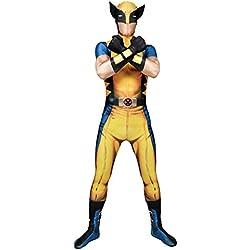 Morphsuits - Disfraz Wolverine, Multicolor, talla M (150cm-162cm)
