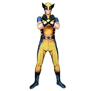 Morphsuits - Disfraz Wolverine, Multicolor, talla L (161cm-177cm)