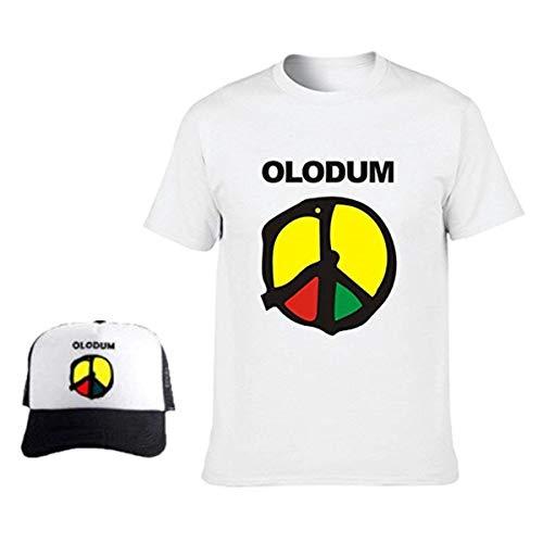 Mens Womens Baumwolle t-Shirts Jungen Mädchen Michael Jackson Memorial Shirts OLODUM Frieden Anti-Krieg T-Shirts (geben Sie einen Hut)- Gr. XS / Etikettgröße: M, Herren (Weiß)
