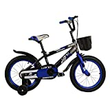 Wanlianer Liegerad Kinder Jungen Gilrs Fahrrad 12inch mit Stablizers Alter 3-5Y Innen- (Farbe : Blau)