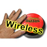 """Wireless """"Big Daddy"""" Table-Top Quiz Game Buzzer with free quiz game software"""