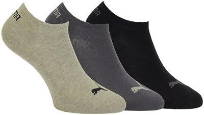 Puma Invisible sneaker - Calcetines tobilleros unisex, pack de 9