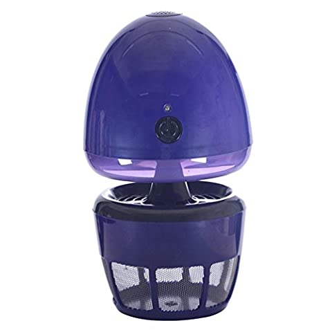 NN Intelligent Light Control Anti-Mosquito Lamp , Blue,blue