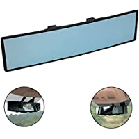 Chytaii R/ückspiegel Auto Panorama Spiegel Anti-Blend-R/ückspiegel mit Winkeleinstellung rechter Winkel gebogen universal f/ür Auto R/ückspiegel