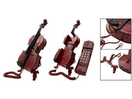 Telefono a forma di violino con tecnologia moderna