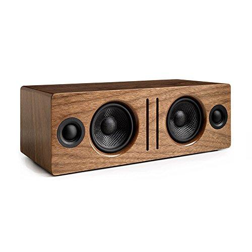 Audioengine B2 Walnuss aptX Stereo Aktiv Lautsprecher (Bluetooth, 2 x 30 Watt)