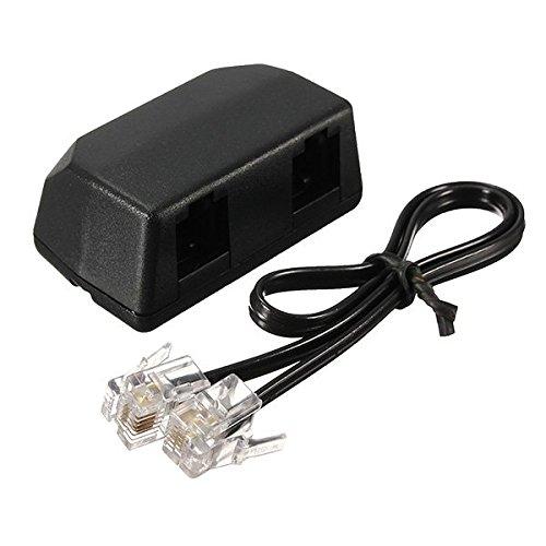 KUNSE 3.5 mm Diktafon Telefonaufnahme Adapter Für Diktiergerät