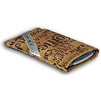 Norrun Keno Handytasche aus Textil-Stoff maßgeschneidert mit Mikrofasereinlage, Strahlenschutz ersetzt die Tasche von Hersteller / Modell Samsung Galaxy S7 edge