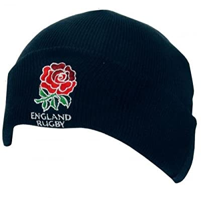 England RFU Official Rugby Gift Knitted Hat - A Great Christmas / Birthday Gift Idea For Men And Boys from ONTRAD Limited
