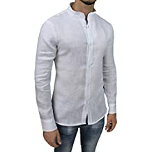 buy online 60103 01952 Amazon.it: camicia lino uomo coreana - 2 stelle e più