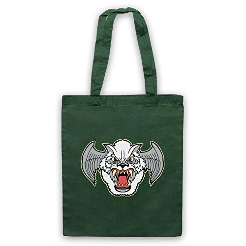 Inspiriert durch Airwolf Badge Logo Inoffiziell Umhangetaschen Dunkelgrun