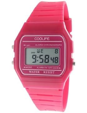 Coolife Unisex-Armbanduhr Retro Style Watches Digital Quarz Plastik CL2013G903