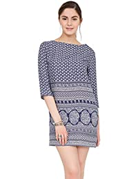 likemary Seville Tunic Dress with 3/4 Sleeves